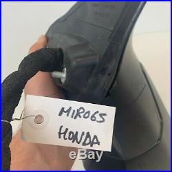 2017 2018 Honda CRV Left Driver Door Mirror Power Heated Blind Spot Monitor OEM