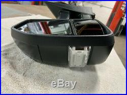 2017-2019 Ford F250 F350 F450 Left LH Driver Mirror Blind Spot OEM power LED tow