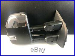 2017-2019 Ford F250 F350 F450 Right Passenger Mirror WithCamera Blind Spot OEM 17