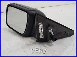 2017 Ford Explorer Driver Door Painted Power Mirror with Blind Spot Alert OEM