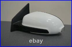 2018-2020 Hyundai Kona Oem Left Hand Driver Side Mirror Power White Blind Spot