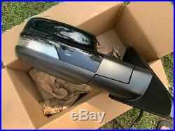 2019 2020 Dodge Ram 1500 Mirror Blind Spot 14 Wire Black Shinyn Right Oem 19 20