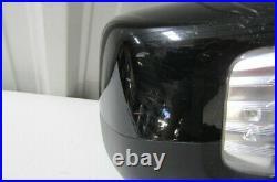 2019 2020 Silverado Sierra Black Oem Right Rh Power Door Mirror W Blind Spot D4