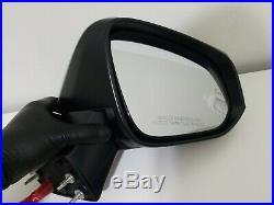2019 2020 Toyota Rav4 RAV-4 Right RH Side Mirror with Blind Spot Signal OEM Good