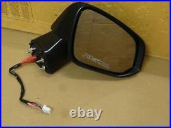 2019 2021 Toyota Rav4 OEM Passenger RH Power Heated Blind Spot Mirror 10 Wire
