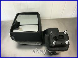 2020-2021 Chevy Silverado GMC Sierra 2500HD Left Signal Towing Door Mirror OEM