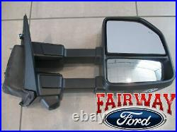 2021 F-150 OEM Ford Chrome Trailer Tow Mirrors Power Fold 360 Camera Blind Spot