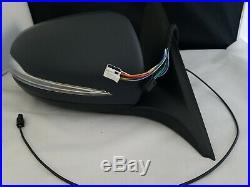 #71 Primed Right Passenger Side Mirror Blind Spot For C250 C300 C350 C63 15-18