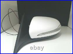 #71 White Right Passenger Side Mirror Blind Spot For C250 C300 C350 C63 15-18