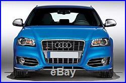 Audi A3 S3 8P Full Chrome Finish Door Wing Mirror Caps Cover Case Housing S Line