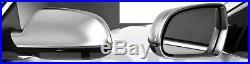 Audi A5 RS5 B8 Alloy Matt Wing Mirror Door Caps Cover Trim Case Housing S-Line