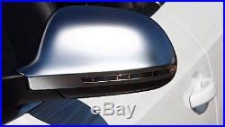 Audi A5 S5 Aluminium Matt Finish Door Wing Mirror Caps Cover Case Housing S Line