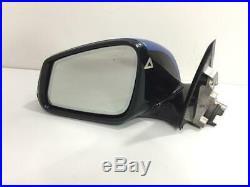 BMW 3 F30 F31 Left Wing Mirror Camera Blind Spot Auto Dimming 5 PIN 2015 OEM LHD