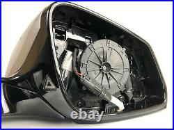 BMW 5 F10 F11 LCI Right Side Wing Mirror Exterior Side View Mirror Blind Spot