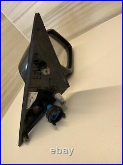BMW 5' F10 F11 LHD Right Mirror 7pin AutoDim 360 view Camera Blind spot Carbon