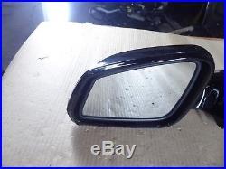 BMW F01 F02 Front Left Driver Side Power Fold Door Mirror Camera Blind Spot OEM