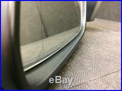 Bmw 7 Series F01 Pre-lci Left Side Wiing Mirror With Camera And Blind Spot Lhd
