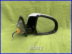 Bmw F15 X5 Wing Mirror driver Side right Blind Spot 5 Pin electric folding RHD