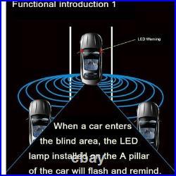 Car Blind Spot Mirror Radar Detection System BSD BSA BSM Microwave Sensor Blind