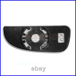 Citroen Relay Heated Lower Bottom Blind Spot Wide Wing Mirror Small Glass Right