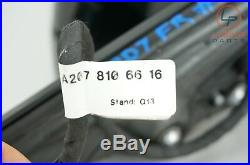 D033 W207 C207 MERCEDES 10-16 E CLASS RIGHT DOOR MIRROR With BLIND SPOT BLACK
