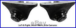 Echomaster Bar Style Backup Camera & (2) Rydeen Under Mirror Blind Spot Cameras