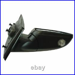 Exterior Power Heated Puddle Light with Blind Spot & Signal Mirror RH for Ford
