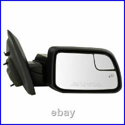 FOR EDGE 2011 2014 MIRROR POWER HEATED WithPUDDLE & BLIND SPOT RIGHT PASSENGER