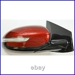 Factory Side View Door Mirror Passenger Blind Spot LH Red For Kia Sportage