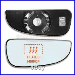 Fiat Ducato Heated Lower Bottom Blind Spot Wide Wing Mirror Small Glass Right OS