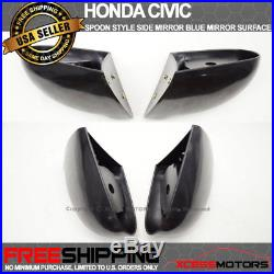 Right Driver side Wide Angle Wing door mirror glass for Honda Civic 96-00 heated