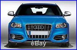 Für Audi A3 A4 A5 A6 A8 Alu Matt Spiegel Abdeckung Spiegel Kappe Spiegel Gehäuse