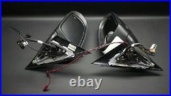 Genuine Mercedes Benz W205 Wing Mirrors Pair Left&right Electric Blind Spot Rhd