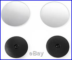 Goodyear Blind Spot Stick-On Mirrors Adjustable Protect Alloy Wheels Protector