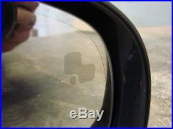 Jaguar Xf X250 2008-2011 Offside Wing Mirror Black Power Fold Heated Blind Spot