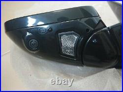 Jaguar Xj X351 Passingers Wing Mirror Fw93-17683-ecb Powerfold Blind Spot Camera