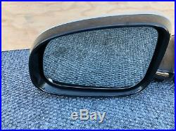 Jaguar Xj Xjl (10-15) Driver Left Door Mirror Auto DIM Fold Blind Spot Oem