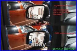 LEFT OEM MERCEDES C W204 GLK X204 E W212 AUTO DIM HEATED MIRROR GLASS BLIND euro