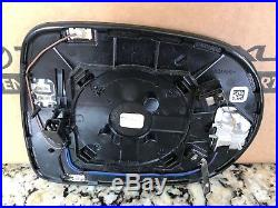 LEXUS RX350 RX450H DRIVER SIDE DOOR MIRROR GLASS with BLIND SPOT 2013 14 15 OEM LH