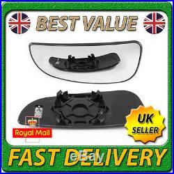 Left Side Bottom Lower Blind Spot Heated Wing Mirror Glass for PEUGEOT BOXER 06+