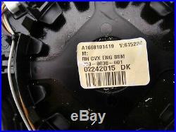 MERCEDES ML W164 GLE W166 GLE C292 G W493 RIGHT HEATED MIRROR GLASS BLIND sp USA