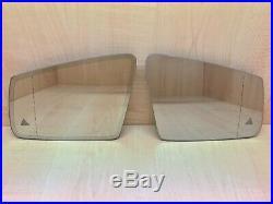 Mercedes A B C E S CL Cls Cla Glk Set Mirror Glass Heating Auto DIM Blind Spot