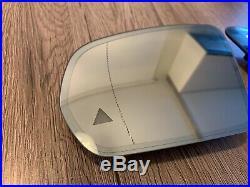 Mercedes C E S w205 w213 w222 OEM Mirror glass SET LH RH Dim Heating Blind spot