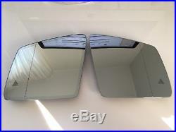 Mercedes ML GL GLE class w166 OEM Mirror glass SET Dimming & Heating blind spot