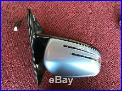 Mercedes W212 E350 E63 E550 Passenger Door Auto DIM Mirror W Blind Spot Oem