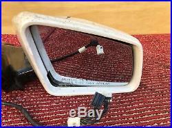 Mercedes W212 E63 E250 E550 E350 Right Passenger Door Auto DIM Mirror Glass Oem