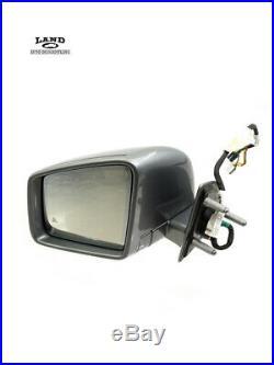 Mercedes X164 Ml/gl-class Driver/left Side Mirror Blind Spot Palladium Silver