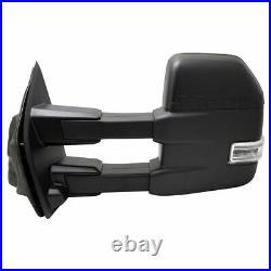 Mirror LH Heated Power Fold Telescope Signal Blind Spot Memory Camera for F150