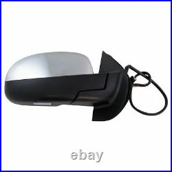 Mirror Power Folding Heated Signal Memory Blind Spot Puddle Chrome Right for GM