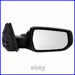 Mirror Power Heated Memory Blind Spot Turn Signal PTM RH for Chevy Malibu